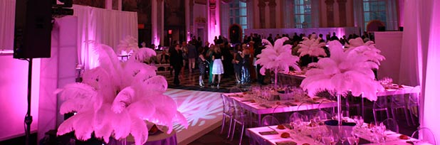 Tailored Hospitality Services for upscale top tier event at 48 Wall Street in NYC